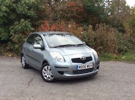 2006 Toyota Yaris 1.3 T3 Automatic Silver 5-door hatch *One Lady owner /Full Toyota service history*