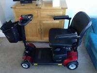 Mobility Scooter - Go Go Elite Traveller LX model number SC44LX. Hardly Used - Excellent Condition