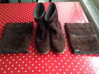 3 in 1 Women's Boots size 8