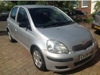 Toyota Yaris 1.3 T3,lady owner