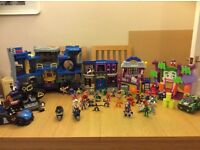 Huge bundle of marvel imaginext and super hero squad figures