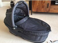 Quinny Dreami Carrycot & accessories: mattress, rain cover, mosquito net, carrycot/car seat adapters