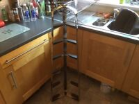 Chrome 6 tier pan stand by Hahn designs