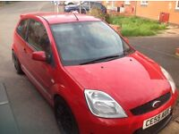 Red Fiesta st £1400