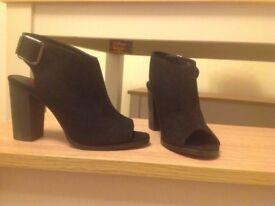 e14591da264 Faith   Women s Metallic Lizzie Rose Gold Strappy Heeled Sandals ...