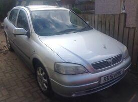 Vauxhall Astra 16LS 100,000 miles service history , alloys ,