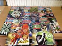 11 x DC COMIC SUPER HERO COLLECTION BOOKS