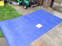 GENUINE LINO FLOORING ROYAL BLUE NEW