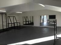 Gym Eqiuipment & 2 8x4 mirrors