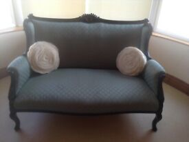 Small two seater settee