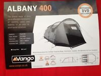 Vango Albany 400 Tent in blue