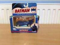 RARE CORGI BATMAN BATMOBILE BMBV3 2000 DC COMICS 1:43 JUNIORS DIECAST CAR