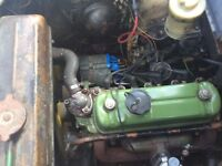 Austin A 35 in solid condition and drives well.