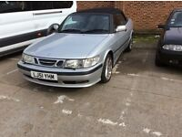 SAAB CONVERTIBLE AUTO WITH ONLY 80k miles and full service