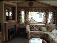 Holiday Caravan to let in beautiful Tattershall Lakes Country Park (sleeps 8)