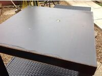 Black square ikea table free free