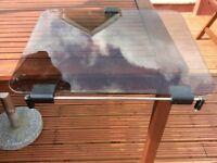 replacement glass cooker lid for caravan/ camper van conversion