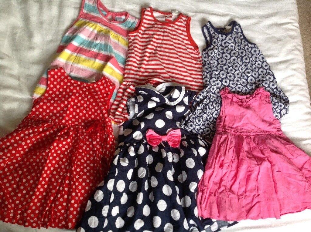 Girls 9-12 month dress bundle