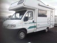 Peugeot boxer campervan 5 berth