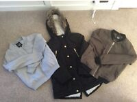 Selection of girls jackets age 8/9