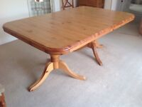 Large. DUCAL Dining-Room Table. (The Roles Royce of Pine).Innear perfect condition.