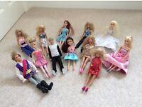 Dolls...some Barbie