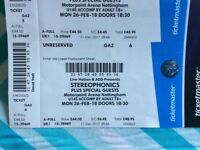 Stereophonics Tickets Nottingham