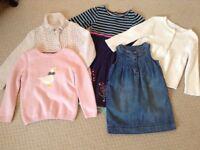 Bundle of Girls Clothing. Monsoon and JojoMamanBebe!