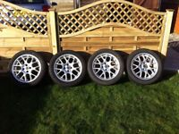 "16"" ""Hairpin"" Alloy Wheels 4 x 100 PCD"