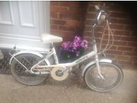 Vintage Girls Raleigh Clover Shopper 3 speed (approx age 8-11