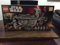 Star Wars Lego, never used.