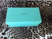 Auth Tiffany gift box for sunglasses