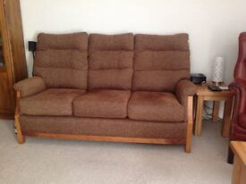 3 SEATER SOFA AS NEW 18 MONTHS OLD