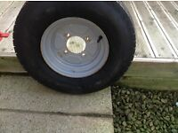 Spare wheel for trailer (10 inch)