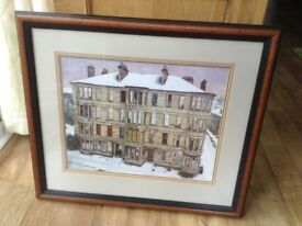 Windows in the West framed print by Avril Paton