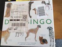 Dog Bingo Board Game - brand new