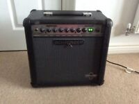 Electric Guitar Amp For Sale With Foot Switch.