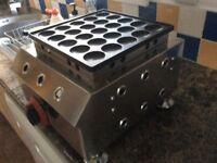 Mini Dutch pancake machine gas
