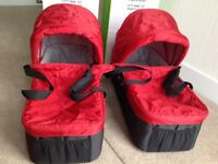 Baby Jogger City Mini Carry Cots Two Available