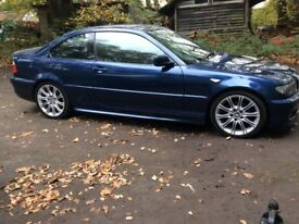 2005 Bmw 320 m sport coupe with fsh + black leather