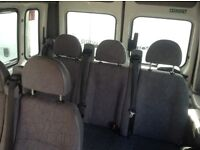 Hi here I have van seats for sale 2 x 3 sweaters with belts and a double from ford transit