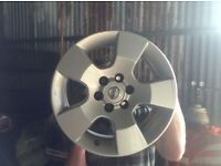 Nissan navar d40 alloy wheels 16""