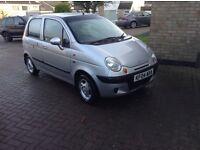 04 daewoo Martiz 1,0 silver 5 doors low tax n miles 63000 £450