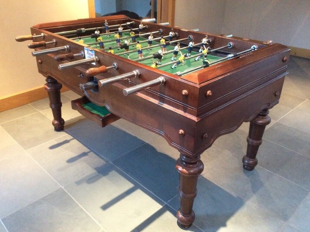 Table Football Table - Full Size - Great Condition - Really Sturdy - Attractive Period Piece