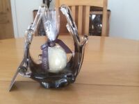 Newgrange Ornamental Glass Candle Holder
