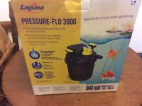 Laguna Pond Filter - Pressure-Flo 3000. Brand New!