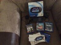 PS Vita plus 3 Games