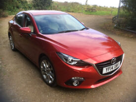 2014 Mazda 3 Sport Nav 2.0 Auto Full Leather Feature Packed