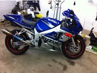 Great condition, good looking gsxr..