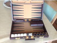 Backgammon game.